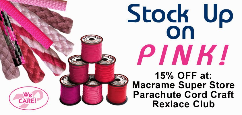 Pink-Tober Sale on our websites - Pepperell Braiding Company