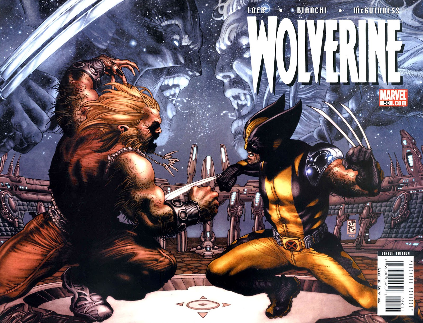 Read online Wolverine (2003) comic -  Issue #50 - 1