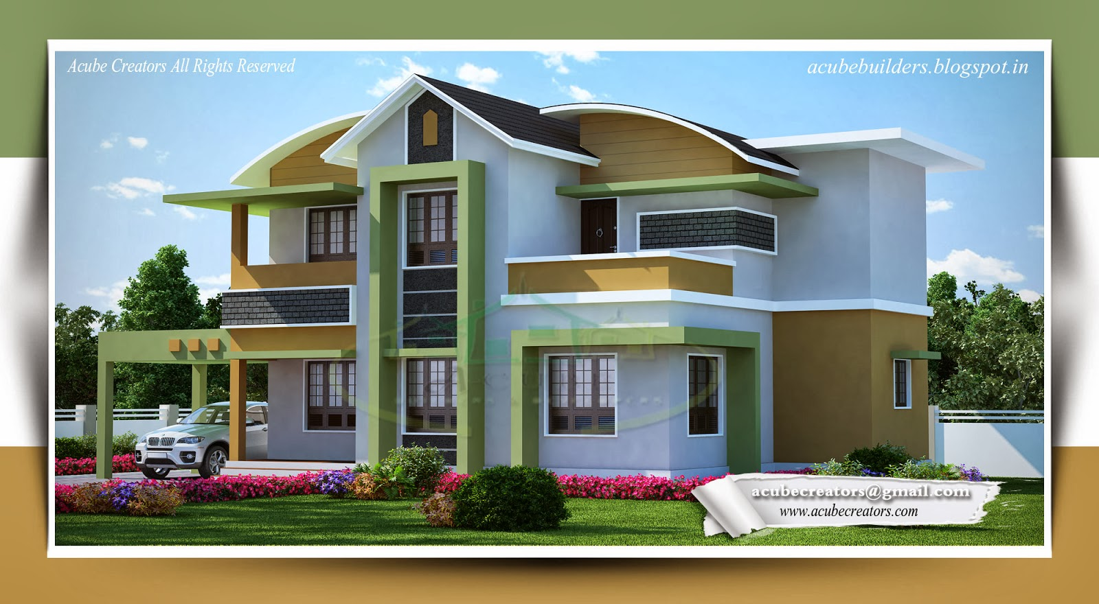 new style villa plan 178 acube builders amp developers