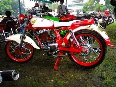 Foto Modifikasi Honda CB 100 125 175 200 Terbaru