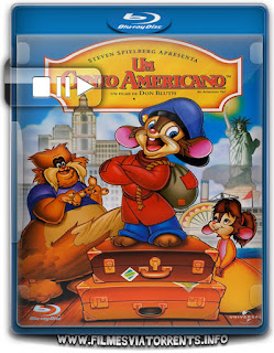 Fievel - Um Conto Americano Torrent - BluRay Rip 720p Dublado