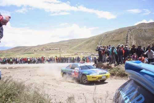 Tupiza será sede de la tercera competencia de automovilismo