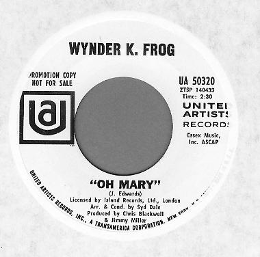 Wynder K Frog I Am A Man