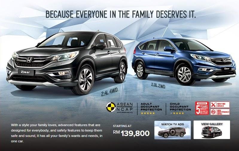 Honda CR V Facelift Dilancarkan Di Malaysia Varian Baru 2 0L 2WD RM139 800