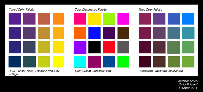 Type one color chart dress your truth