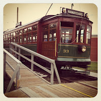 High level streetcar