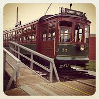 High level streetcar