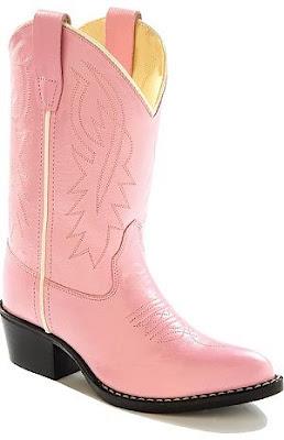 bota rosa cano alto estilo cowboy
