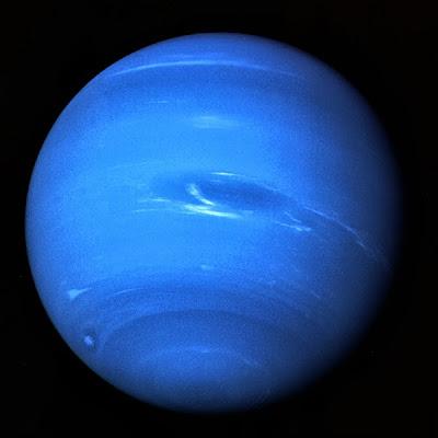 Nettuno il Malefico fotografato dal Voyager 2