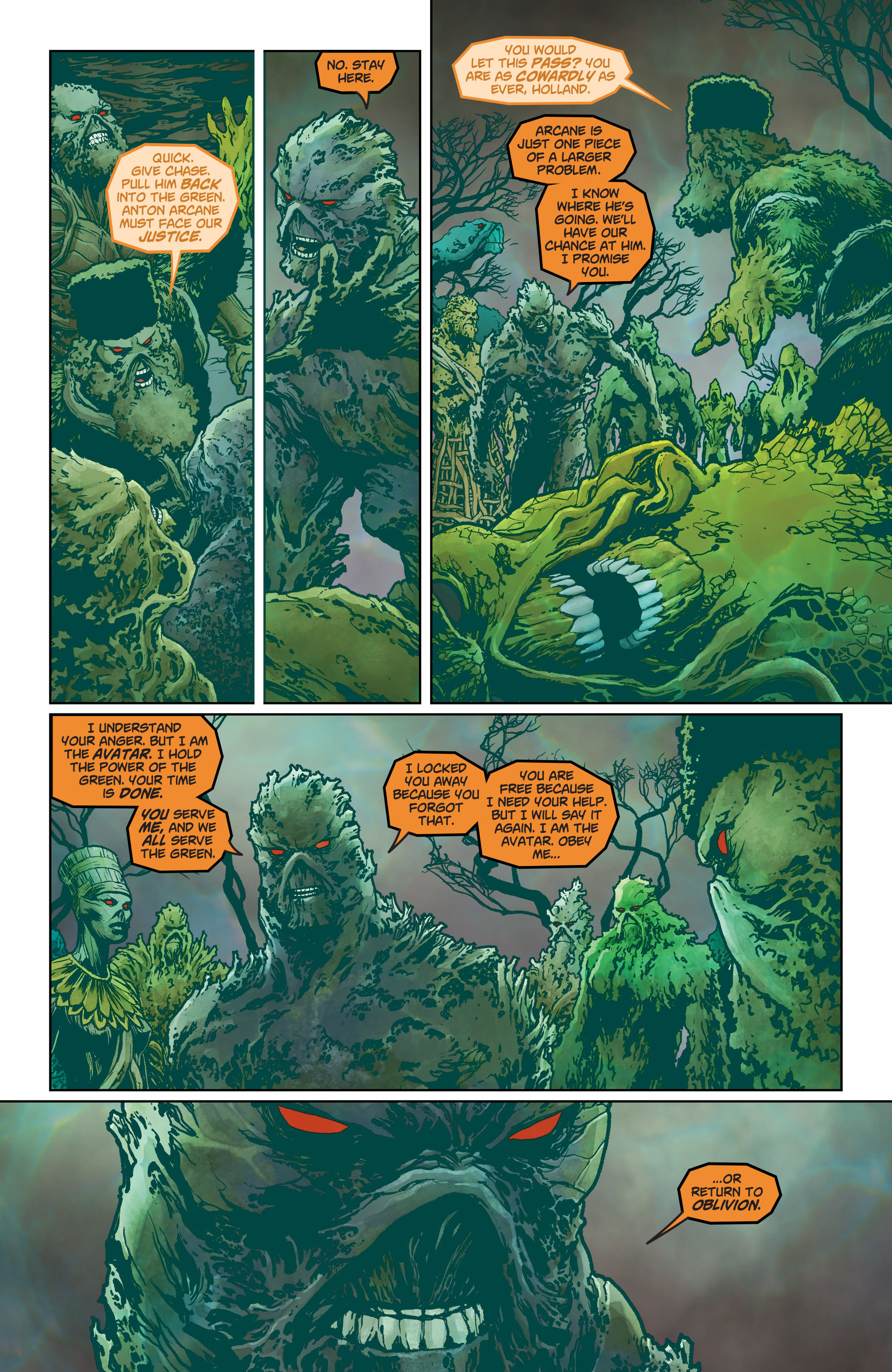 Swamp Thing (2011) Issue #40 #45 - English 4