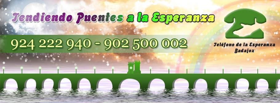 Teléfono de la Esperanza de Badajoz 924222940