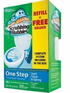 Save With Ashley Free Scrubbing Bubbles Automatic Toilet Bowl Cleaner After Coupon At Walmart