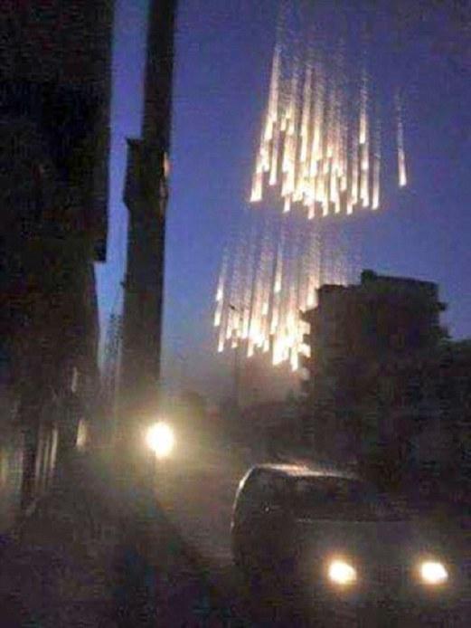 Russia Gugur Bom Fosforus Putih Keatas Orang Awam Syria
