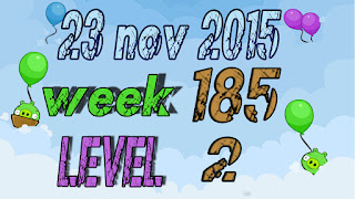 Angry Birds Friends Tournament Week 185 level 2