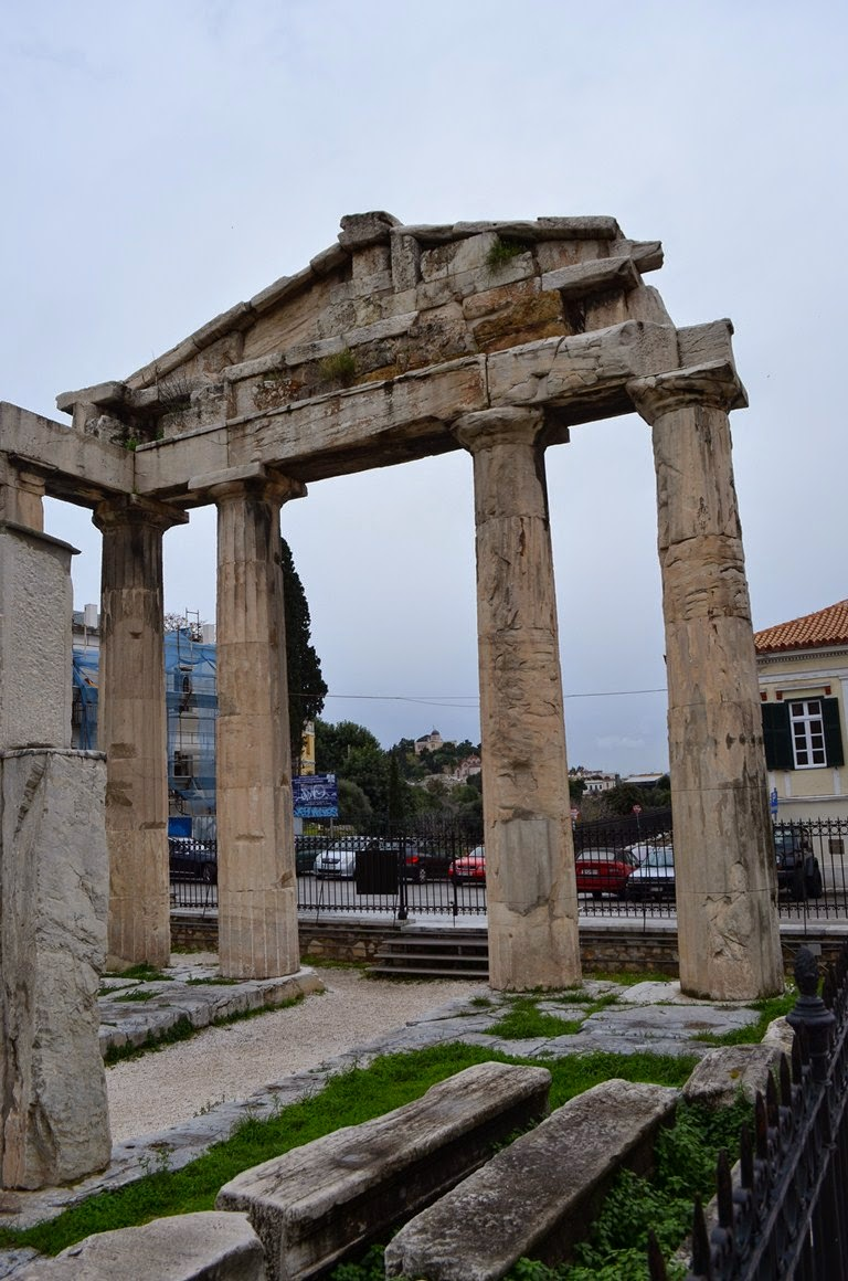 I viaggi di raffaella atene l 39 agor romana - Porta romana viaggi ...