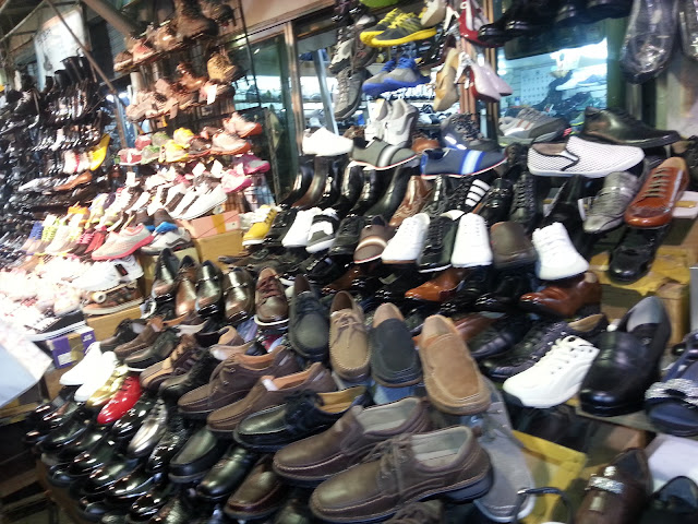 Wholesale shoe shops in Dongdaemun
