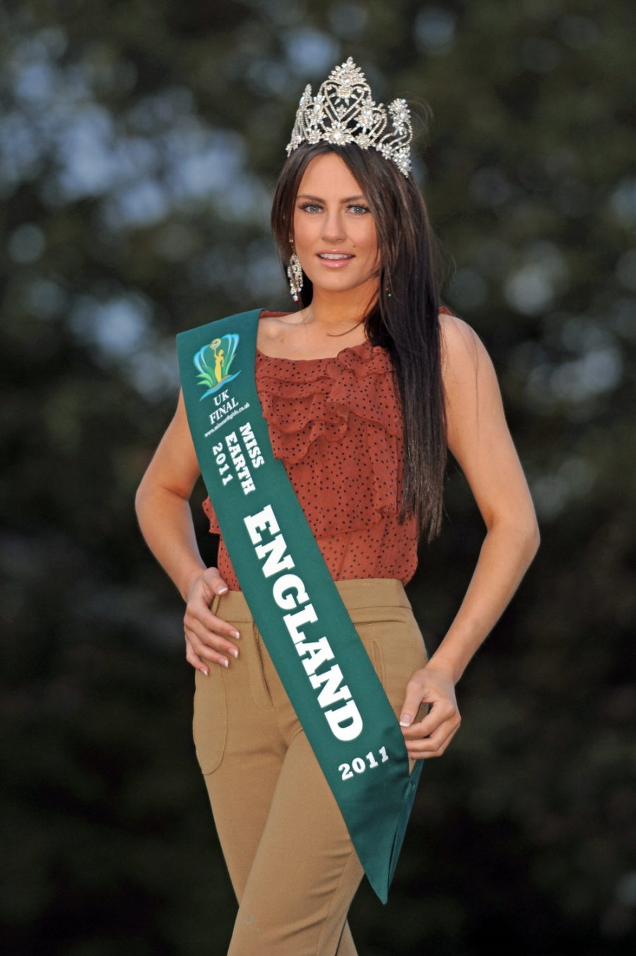 Roxanne Smith,Miss Earth England 2011