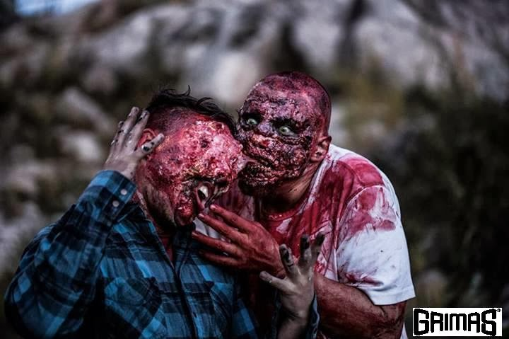 Zombie Fight. Mutant-zombies: Ville Lumioksa and Ari Savonen.