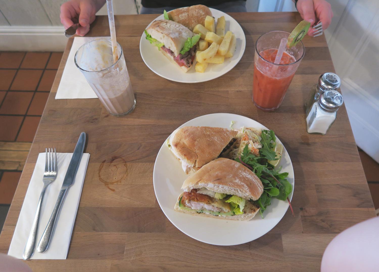 fishfinger sandwich teacup manchester
