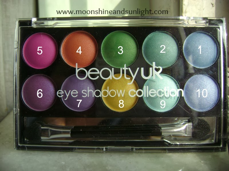 Beauty UK Soho eyeshadow palette review and swatches