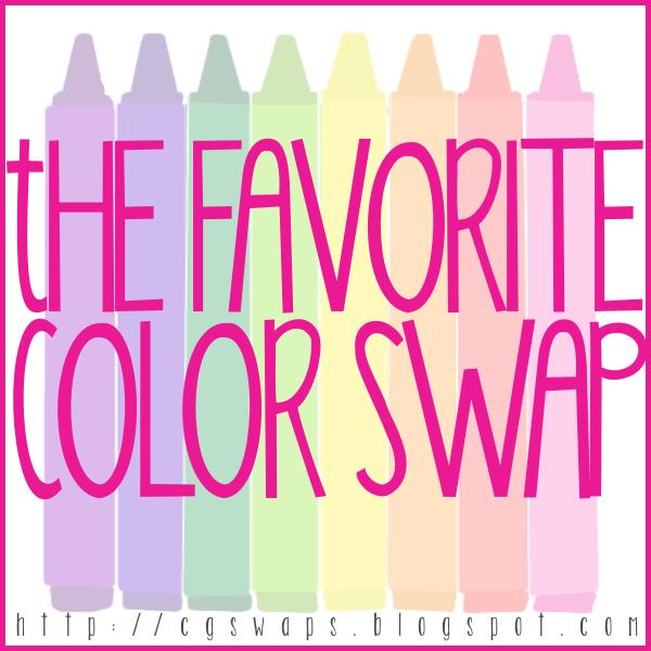 Favorite Color Swap Announcement & Giveaway