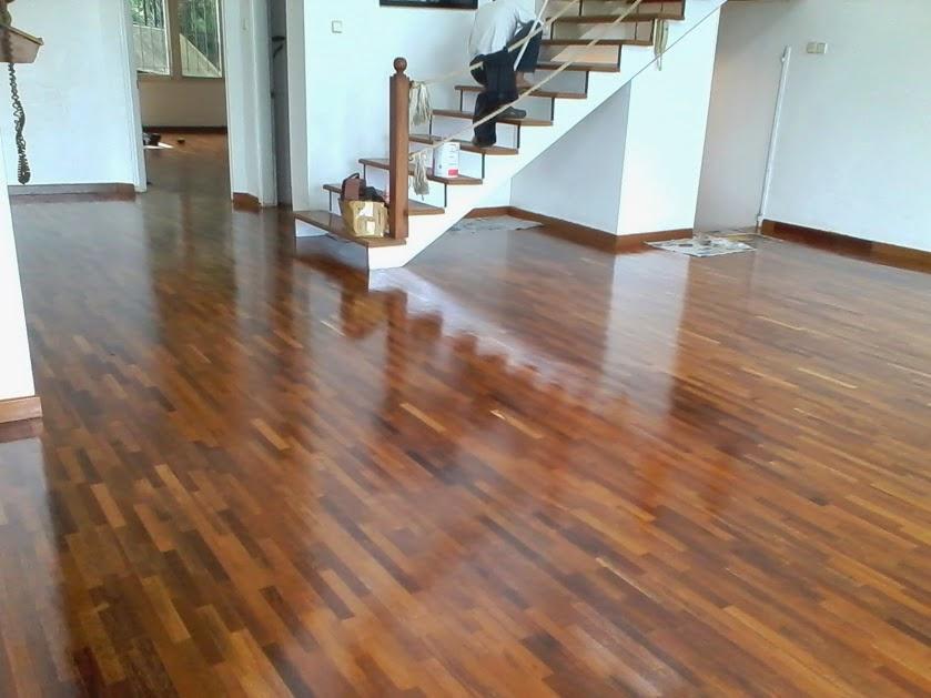 contoh lantai kayu merbau