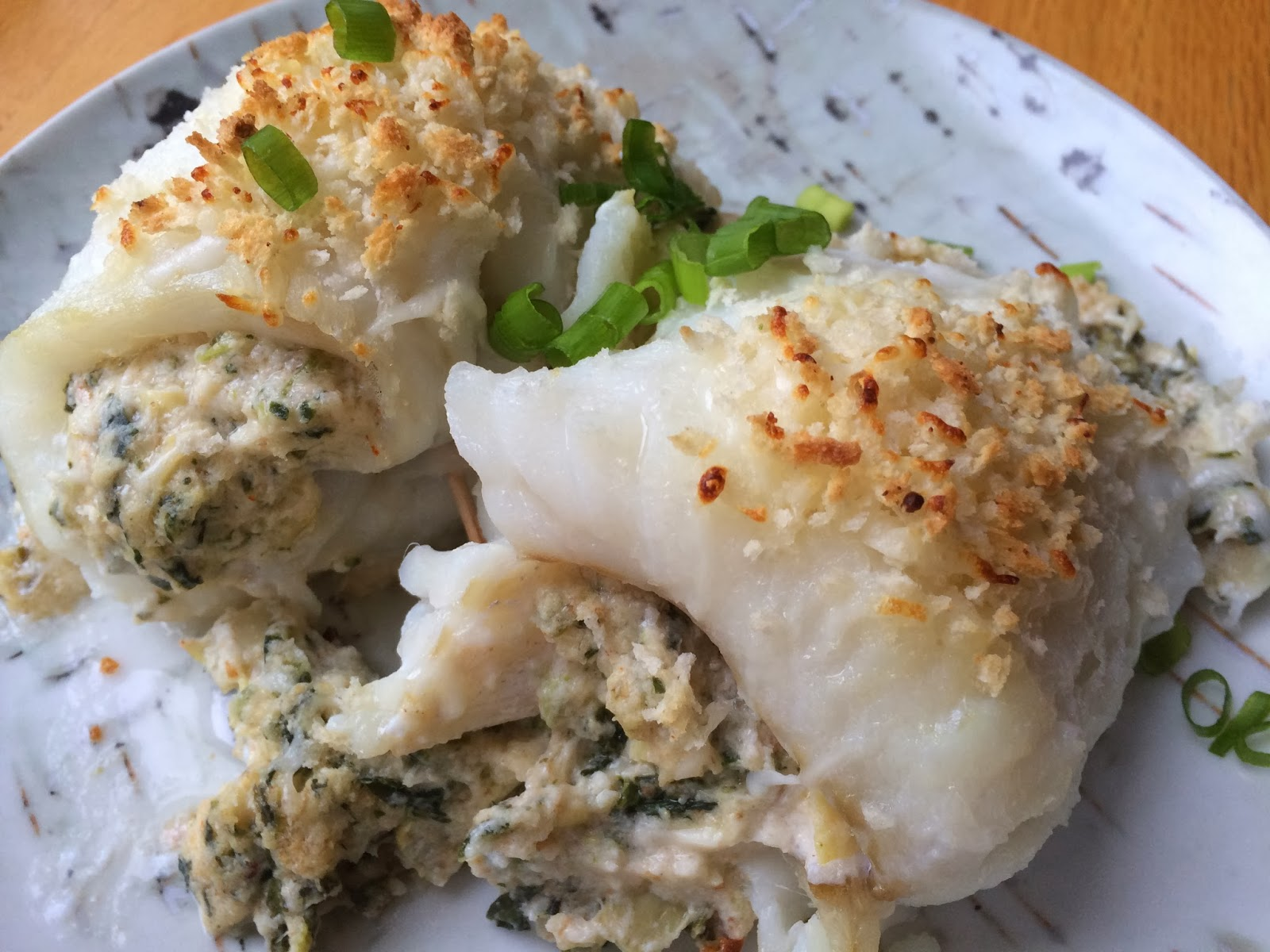Cod with Crab Stuffing