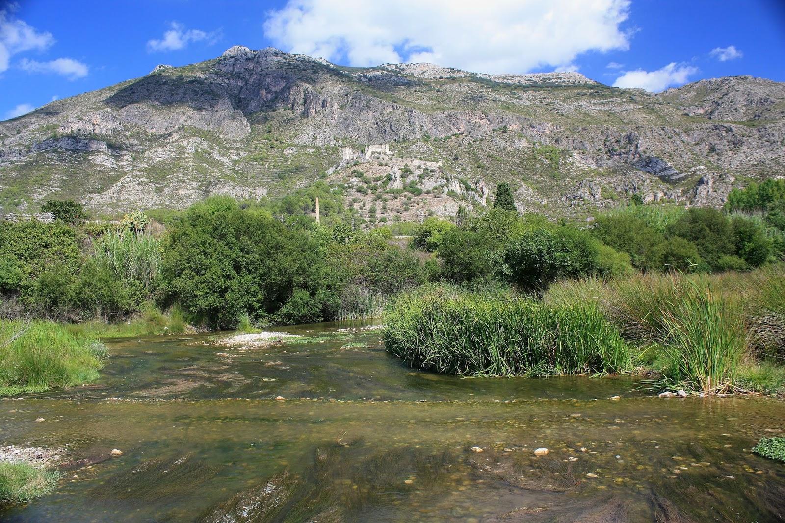 Riu Serpis ( Vall de Perputxent)