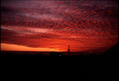 Sunset Willesden Junction Harlesden