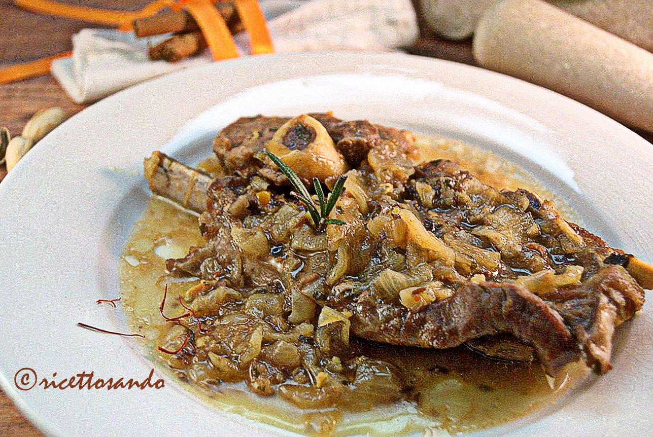 Tajine di agnello al miele ricetta ottima anche con tacchino