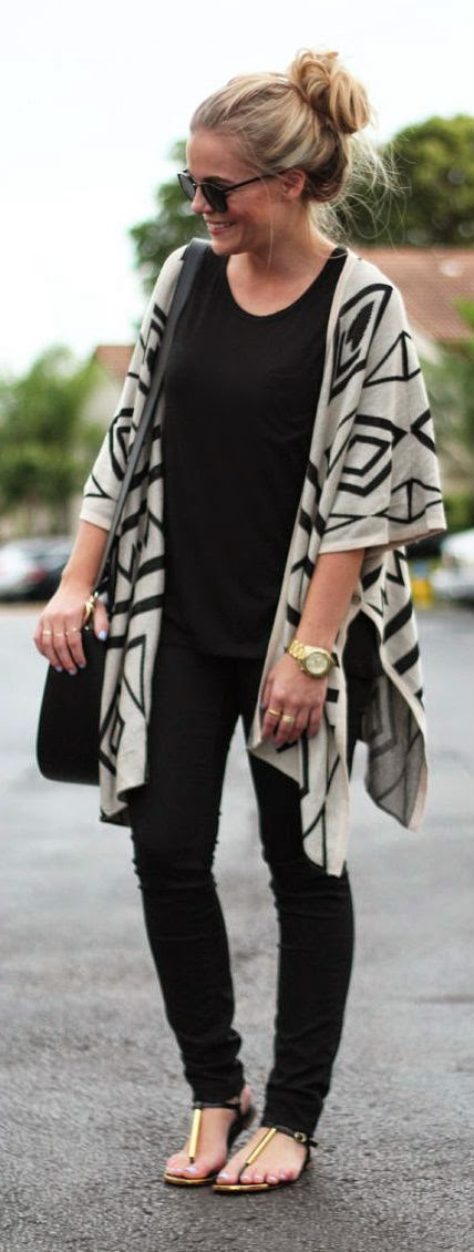 WINGED PONCHO - Adorable layered over skinnies or leggings & paired with your favorite tee.