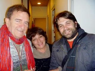 """Foto luego de la hermosa entrevista por """"PETRONA"""" en Radio Uba, en el programa de Mabel Loschiavo"""