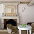 Old Provençal Fireplace, Modern Furniture