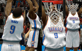 NBA 2K13 OKC Thunder Home Jersey Patch