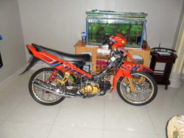 Gallery Foto Modifikasi Motor Yamaha Jupiter Z Airbrush
