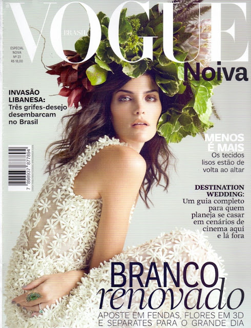 Fashion Model @ Luciana Curtis - Vogue Noiva Brazil,  May 2015
