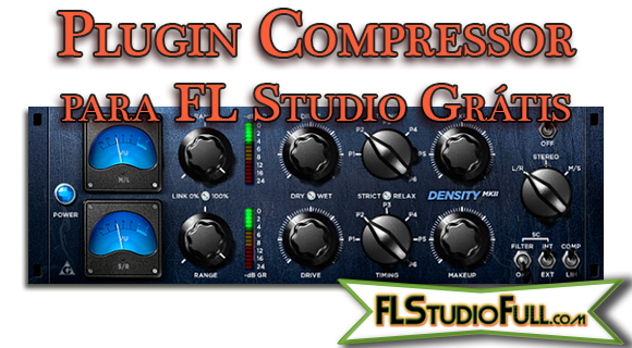 Plugin Compressor para FL Studio Grátis