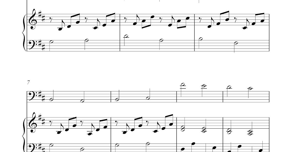 canon in c guitar sheet music pdf