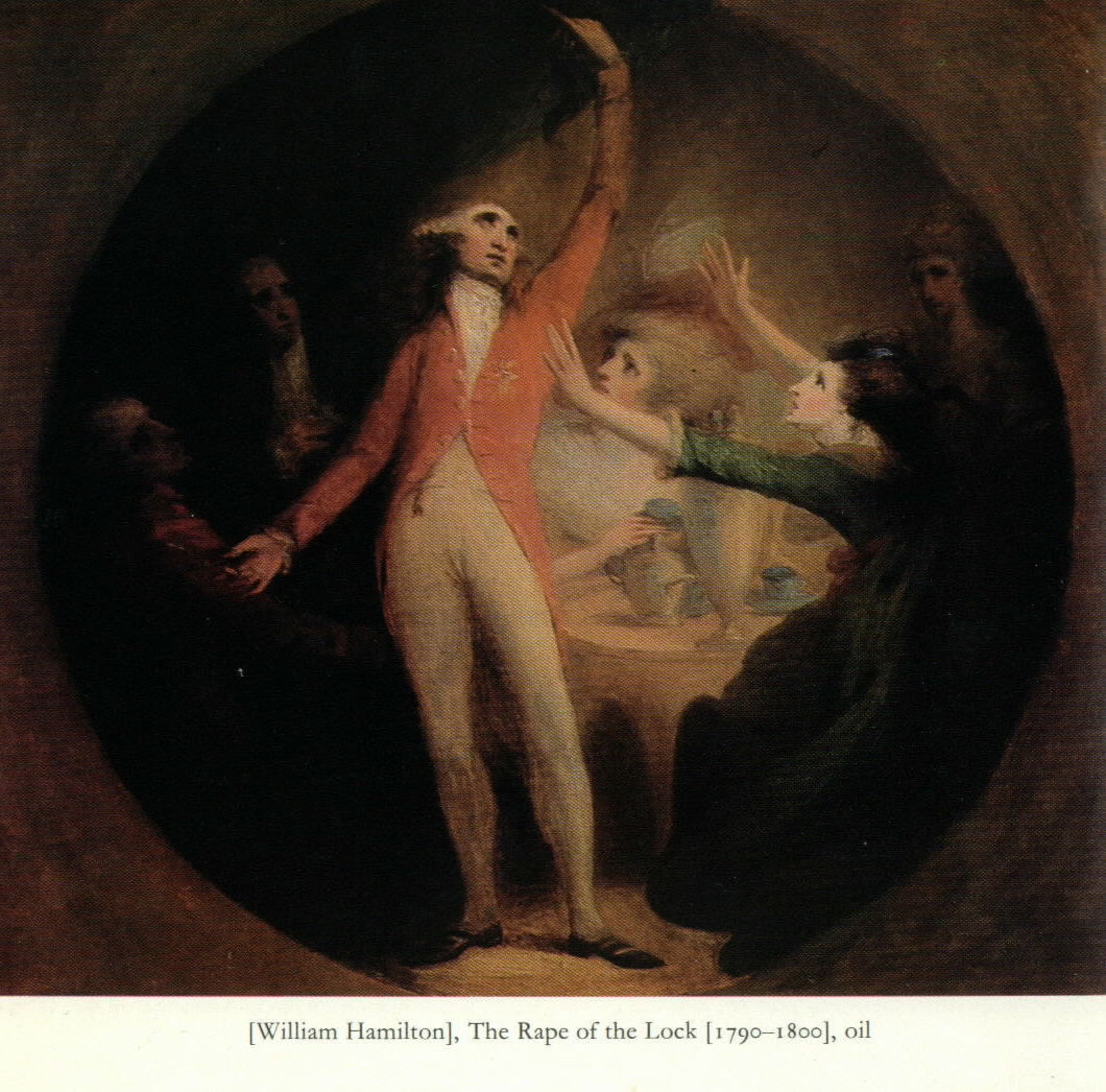 the rape of the lock The rape of the lock is a mock-heroic narrative poem written by alexander pope one of the most commonly cited examples of high burlesque.