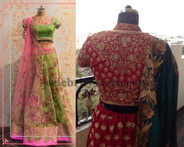 Anushree Reddy Lehenga Designs