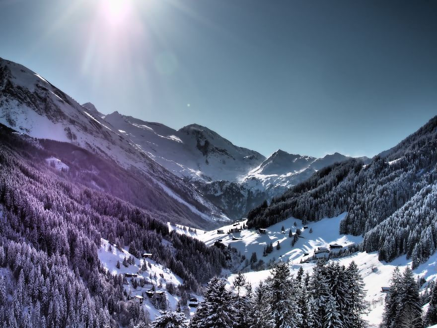 I Finally Took My Camera Out While Skiing The Alpes
