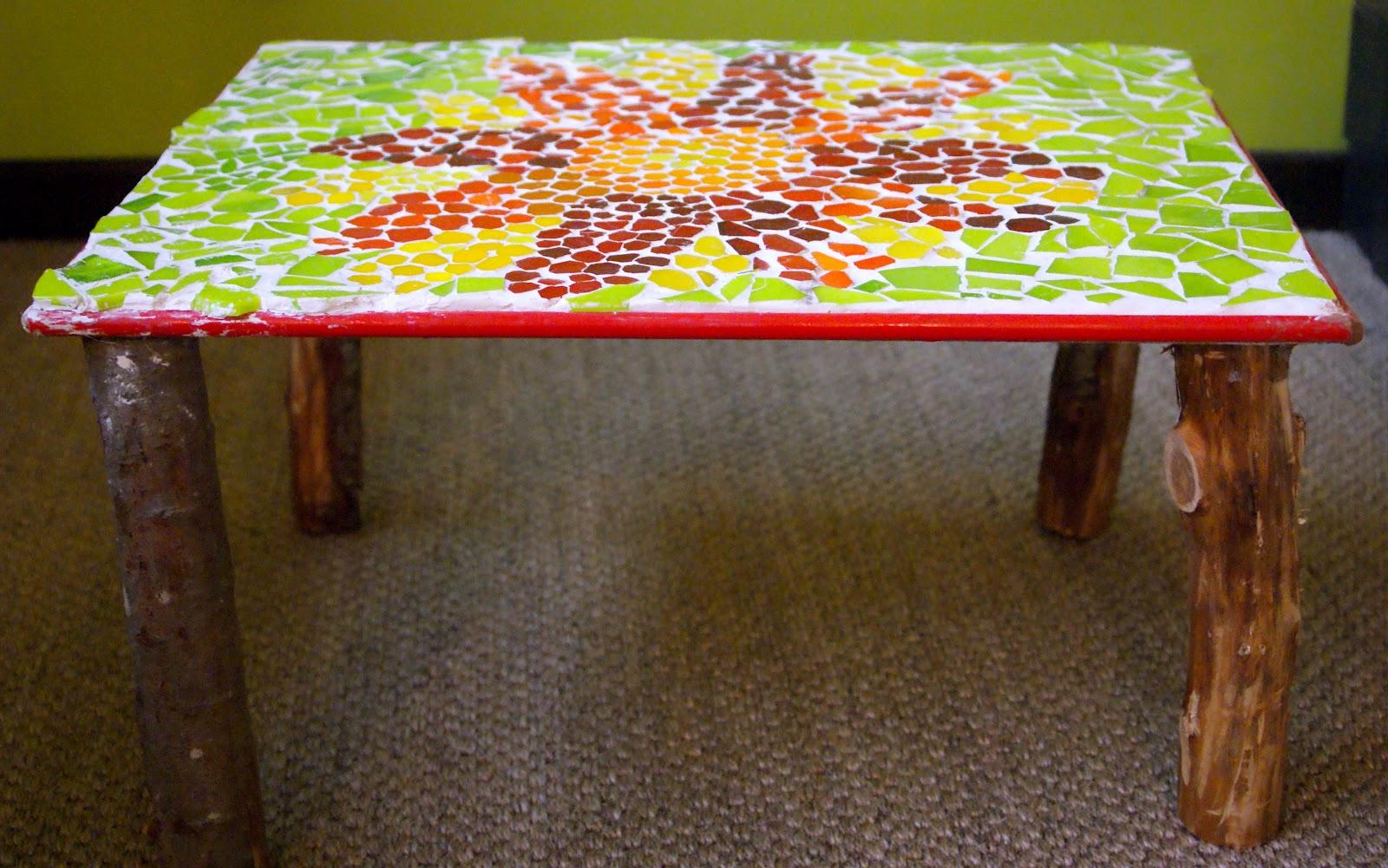 Table en mosa que mon carnet de bricolage for Fabriquer table mosaique