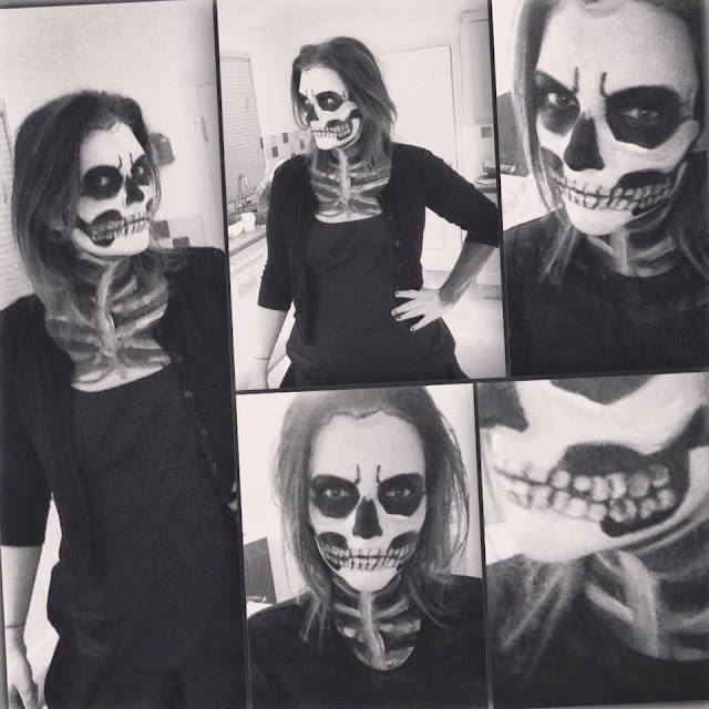 an image of Skeleton Makeup