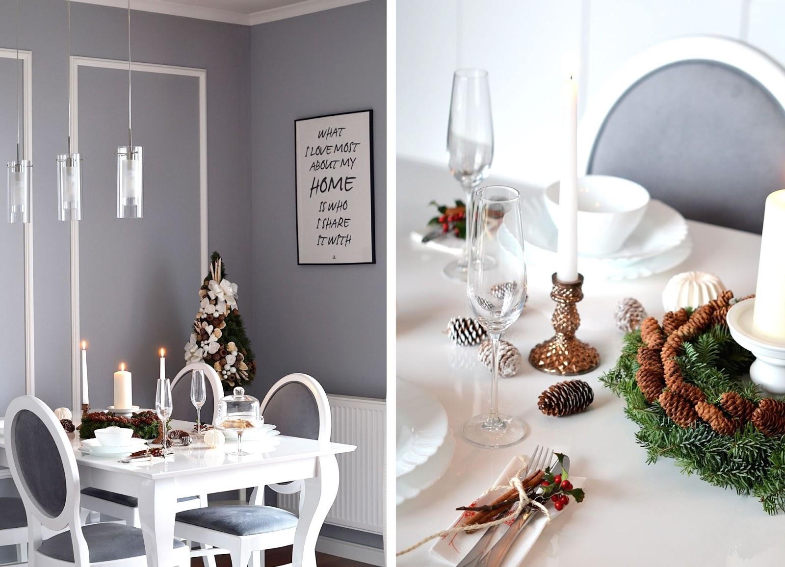 dekoracje stolu swiatecznego | blogi modowe
