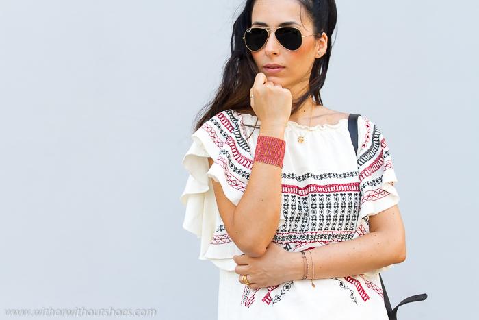 Blogger valenciana e moda estilo Isabel Marant etnico bohemio chic