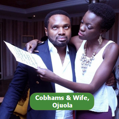 cobhams asuquo wife pictures