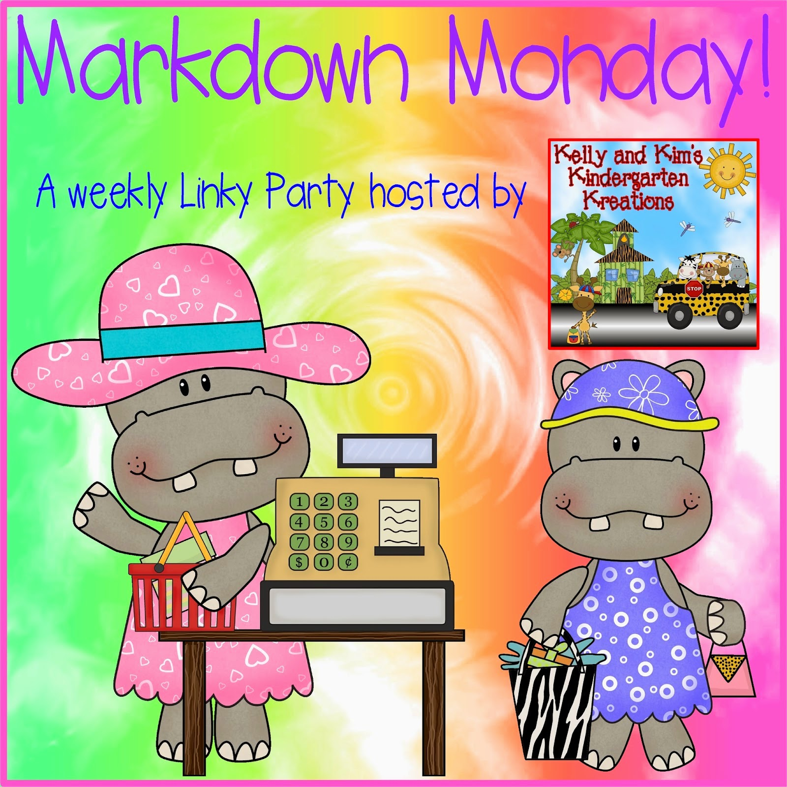 http://kellyandkimskindergarten.blogspot.com/2014/06/markdown-monday-linky-party-featuring.html