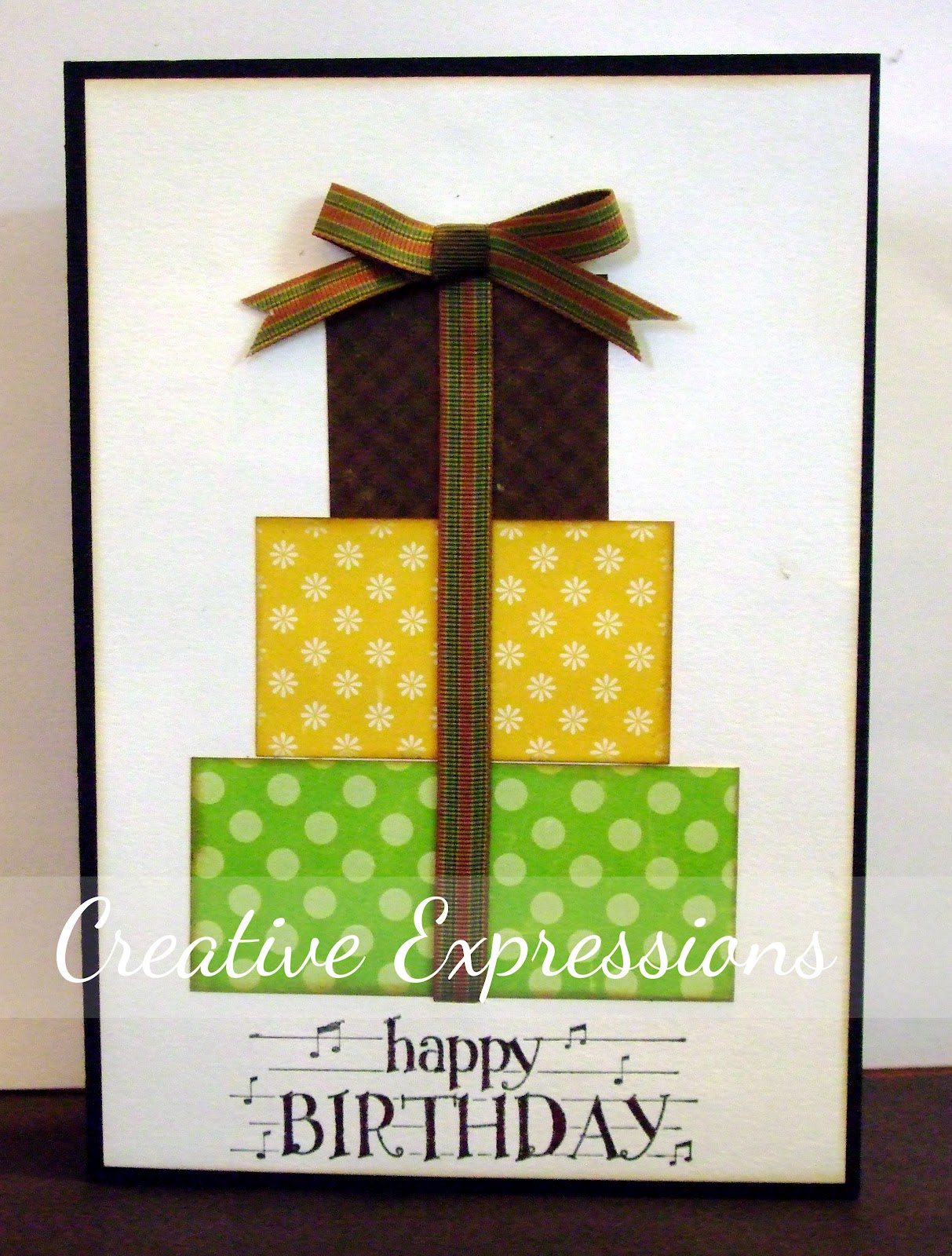 Creative Expressions Cas Cards