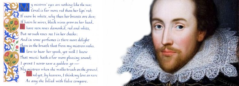 Love Poems by William Shakespeare