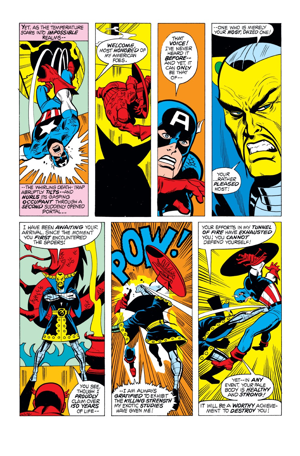 Captain America (1968) Issue #165 #79 - English 18